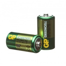 Солевые батарейки GP Greencell R14 2S 2/24